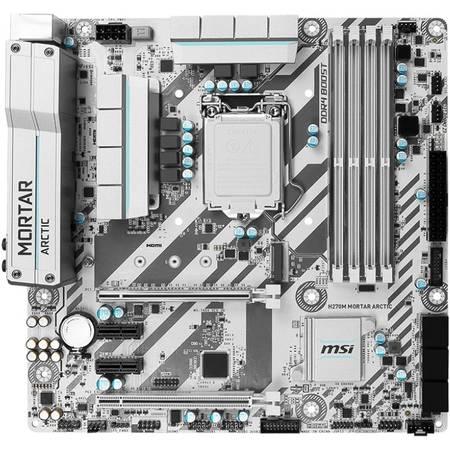Placa de baza MSI H270M MORTAR ARCTIC Intel LGA1151 mATX