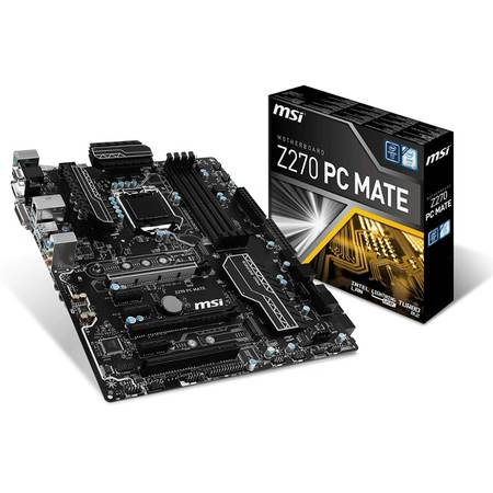 Placa de baza MSI Z270 PC MATE Intel LGA1151 ATX