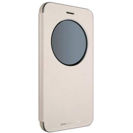 Husa Flip Cover 90AC0160-BCV008 Gold pentru Asus Zenfone 3 ZE552KL