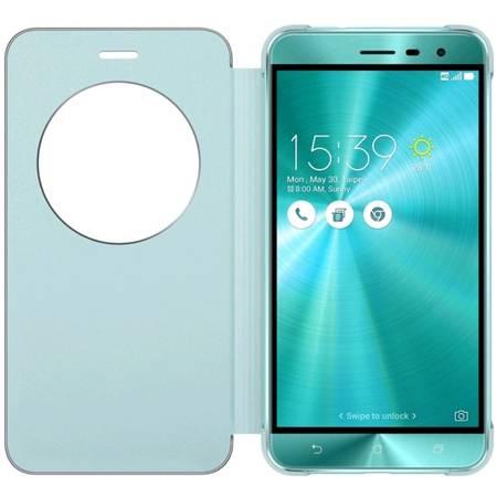 Husa Flip Cover 90AC0160-BCV012 Blue pentru Asus Zenfone 3 ZE552KL