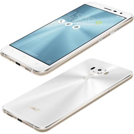 Smartphone Asus ZenFone 3 ZE552KL 64GB Dual Sim LTE 4G Moonlight White