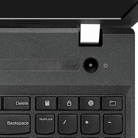 Laptop Lenovo ThinkPad E560 15.6 inch Full HD Intel Core i7-6500U 8GB DDR3 1TB HDD AMD Radeon R7 M370 2GB FPR Windows 10 Pro Graphite Black