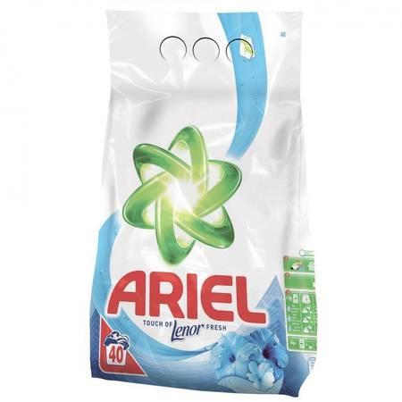 Detergent de rufe automat Ariel Lenor Touch Oxygen Purity 4kg