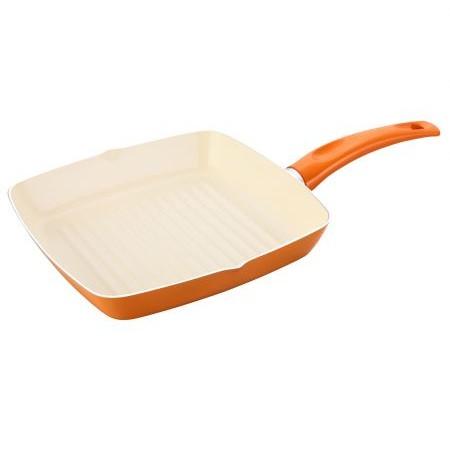 Tigaie grill Home Ivona 24 x 24 cm portocalie thumbnail
