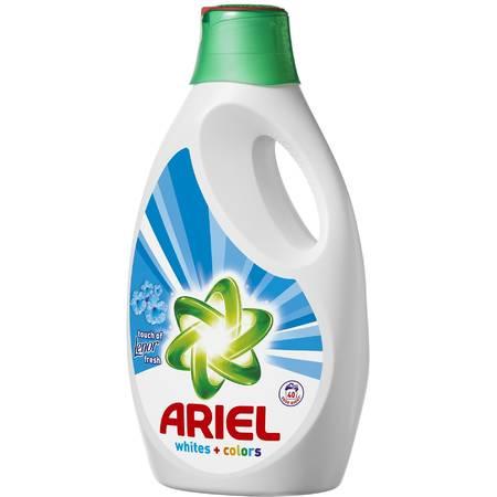 Detergent de rufe automat Ariel lichid Lenor Touch 2.6L