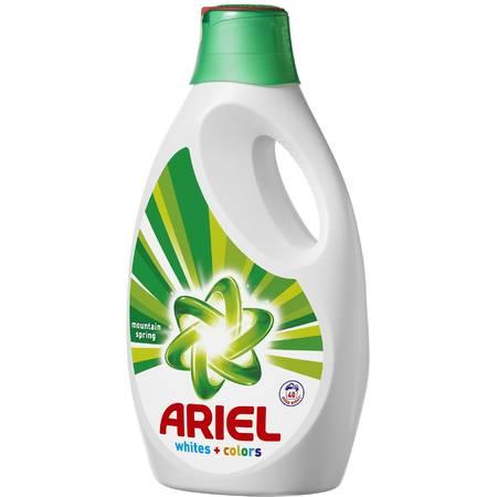 Detergent de rufe automat Ariel lichid Mountain Spring 2.6L