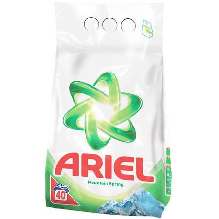 Detergent de rufe automat Ariel Mountain Spring 4kg