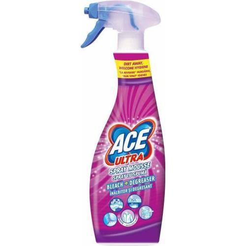 Spray cu spuma inalbitor si degresant Ultra Fresh 700ml