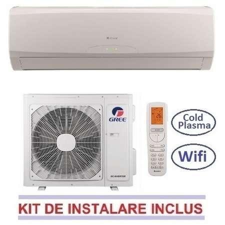Aparat aer conditionat Gree VIOLA GWH09RA-K3DNA5A 9000BTU Inverter WI-FI Incorporat A++ Alb + Kit de instalare