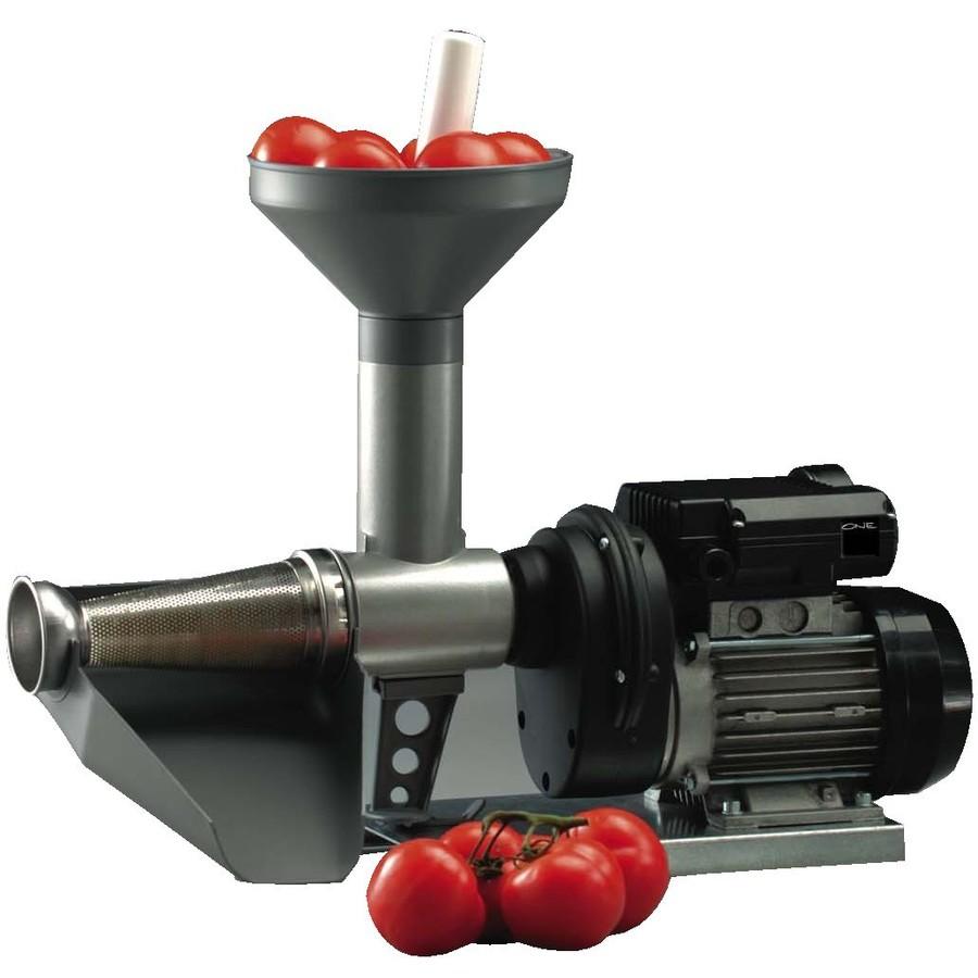 Masina electrica de tocat rosii AR7400 2.5 Kg / min 400W Gri/Negru