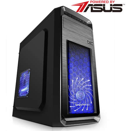 Sistem desktop Powered by ASUS PRIMO PRO Intel Celeron G3900 Dual Core 2.8 GHz 8 GB DDR4 SSD 120GB HDD 500GB Free DOS Black