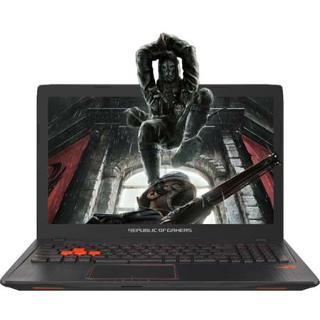 Laptop Asus ROG GL553VD-FY079T 15.6 inch Full HD Intel Core i7-7700HQ 8GB DDR4 1TB HDD nVidia GeForce GTX 1050 4GB Windows 10 Black