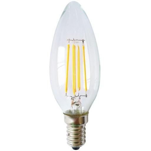 Bec LED E14 candle filament 4W thumbnail