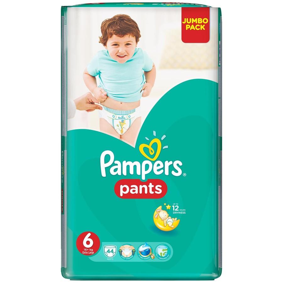 Scutece Active Baby Pants 6 Jumbo Pack 44 buc thumbnail