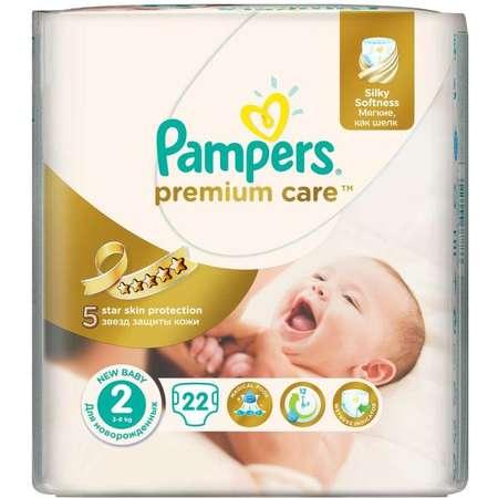 Scutece PAMPERS Premium Care 2 Mini Small Pack 22 buc