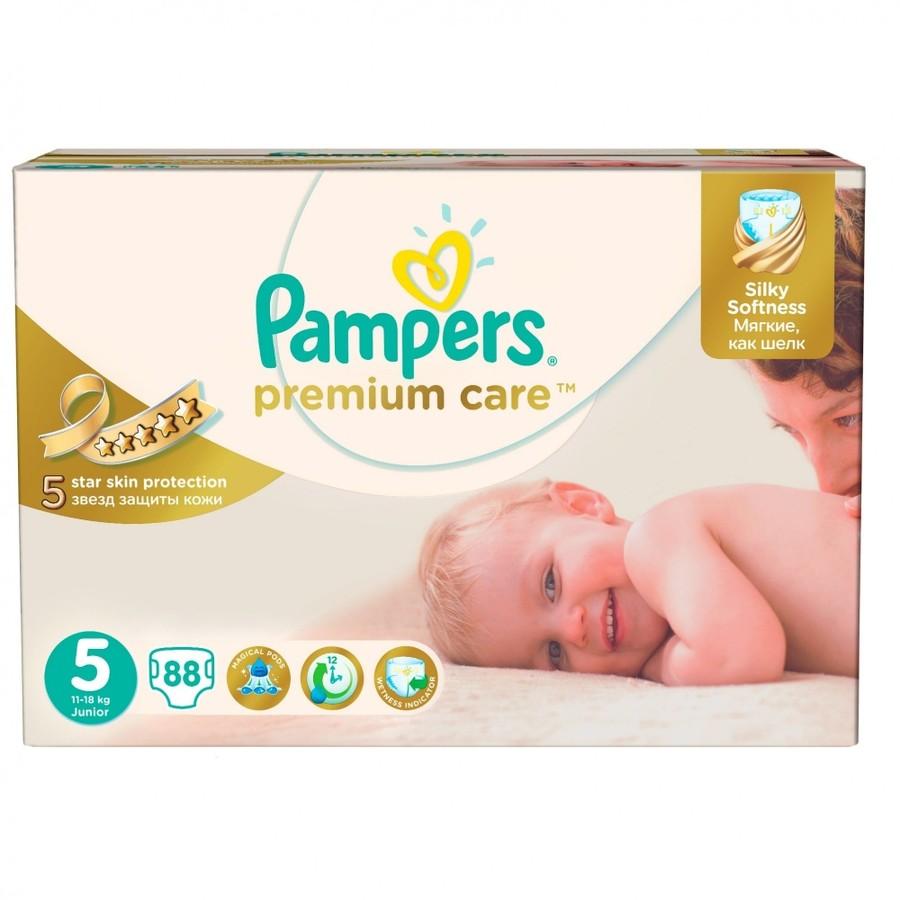 Scutece Premium Care 5 Mega Box 88 buc
