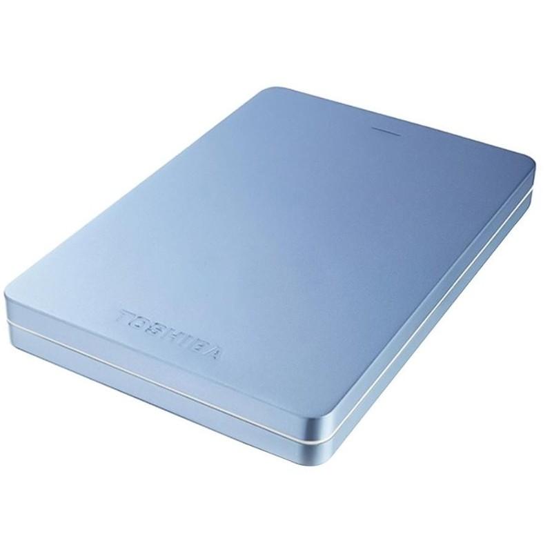 Hard Disk Extern Canvio Alu 2tb 2.5 Inch Usb 3.0 Blue