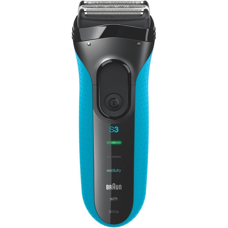 Aparat de ras 3010 Acumulator SensoFoil IPX7 MicroComb Negru/Albastru thumbnail