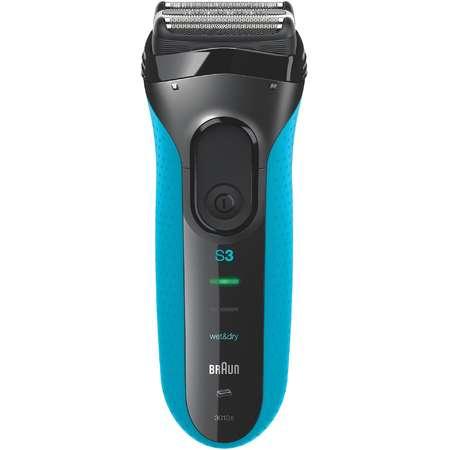 Aparat de ras Braun 3010 Acumulator SensoFoil IPX7 MicroComb Negru/Albastru