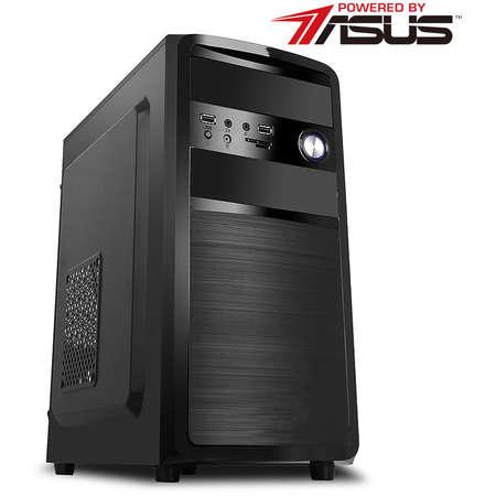 Sistem desktop Powered by ASUS Media Intel Pentium G4560 Dual Core 3.5GHz Placa video HD 610 HDD 500 GB SATA Free DOS Black