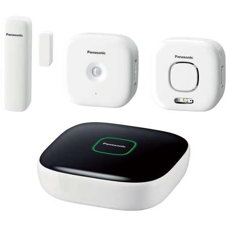 Home Safety Starter Kit Plus Panasonic KX-HN6011FXW Alb/Negru