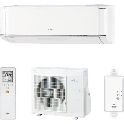Aparat aer conditionat Fujitsu Nocria X ASYG09KXCA Inverter 9000BTU CONTROL WI-FI A+++ Alb