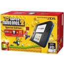 2DS Black Blue cu joc New Super Mario Bros 2