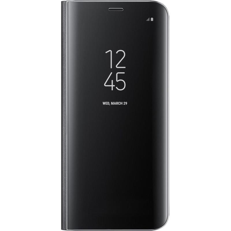 Husa Flip Cover Ef-zg950cbegww Clear View Negru Pentru Samsung Galaxy S8