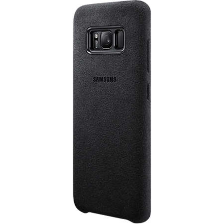 Husa Protectie Spate EF-XG955ASEGWW Alcantara Cover Argintiu pentru SAMSUNG Galaxy S8 Plus
