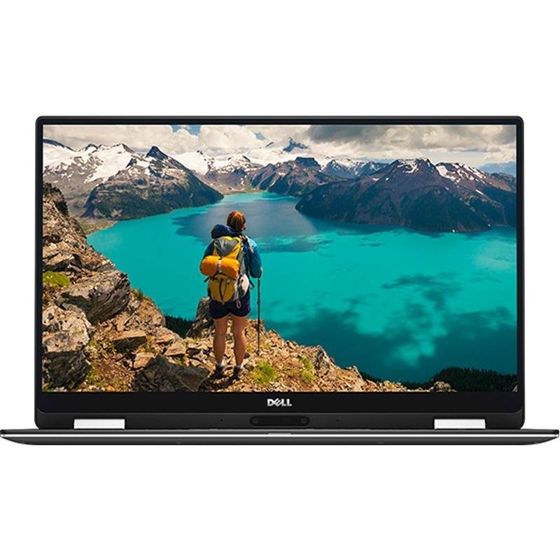 Laptop XPS 13 9365 13.3 inch Quad HD+ Touch Intel Core i7-7Y75 8GB DDR3 512GB SSD Windows 10 Silver thumbnail