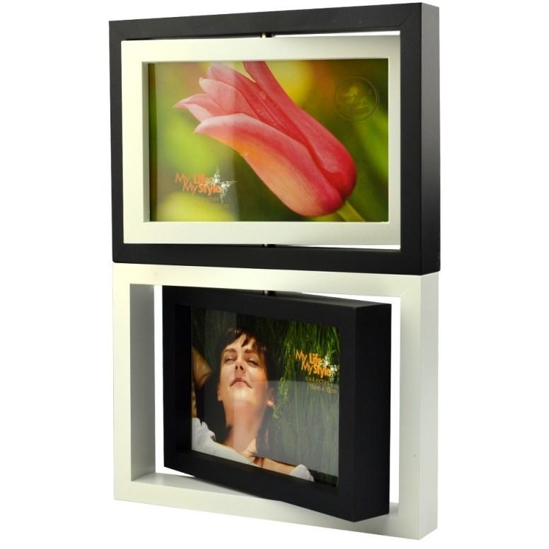 Rama foto Joyce rotativa din lemn 30x25 cm imbinare magnetica thumbnail