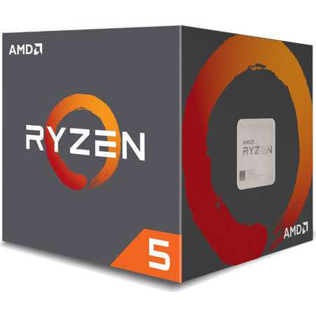 Procesor AMD Ryzen 5 1400 Quad Core 3.2 GHz socket AM4 BOX