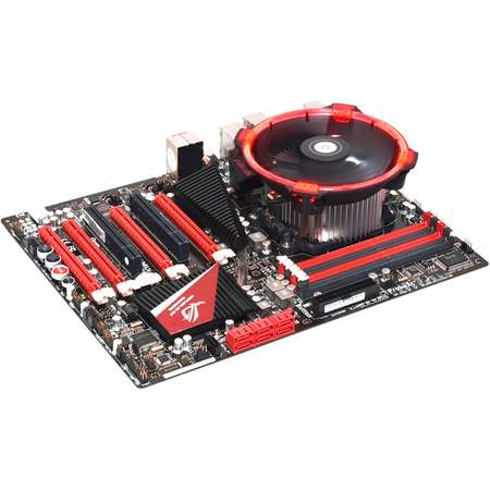 Cooler procesor ID-Cooling DK-03 Halo AMD Red