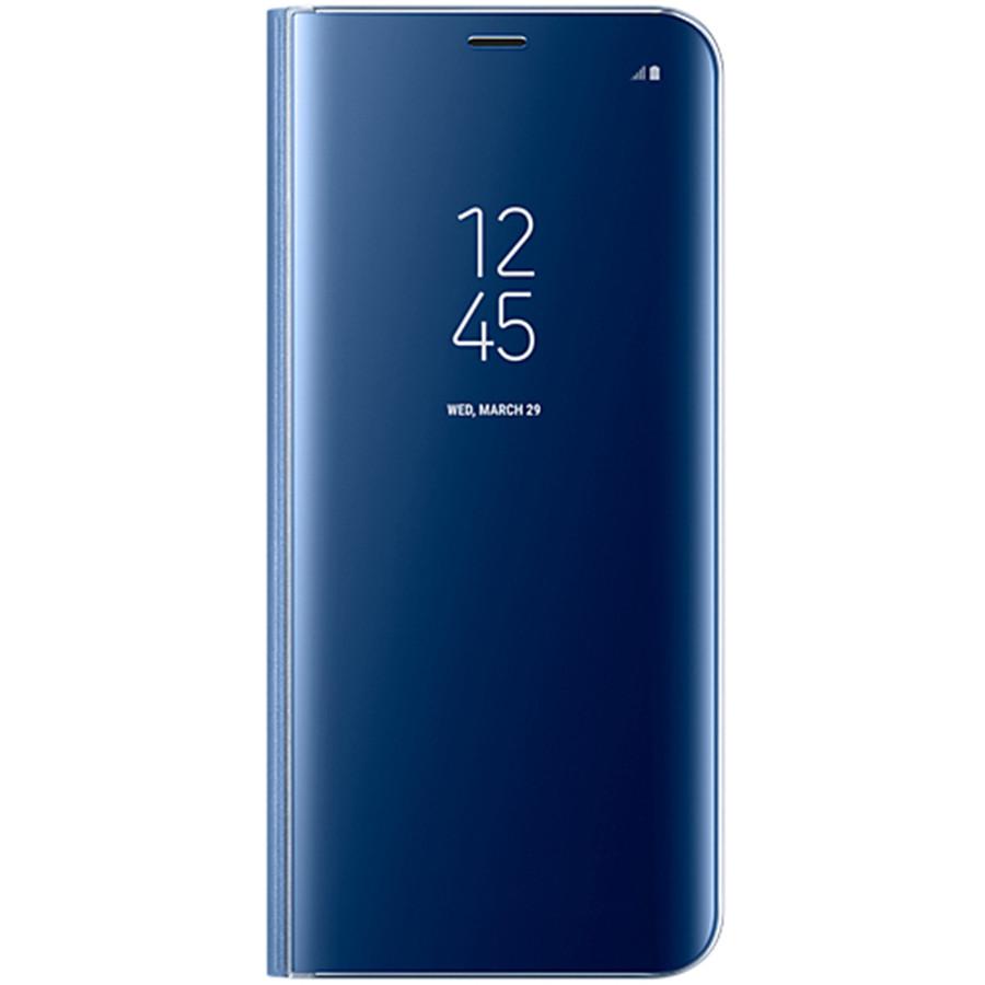 Husa Flip Cover Ef-zg955clegww Clear View Albastru Pentru Samsung Galaxy S8 Plus
