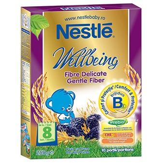 Cereale copii Wellbeing fibre delicate 250g de la 8 luni thumbnail