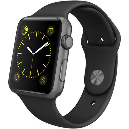 iWatch refurbished Apple Sport A1554 42 mm Space Grey / Black