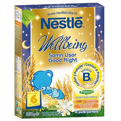 Cereale copii Wellbeing somn usor 250g de la 6 luni thumbnail