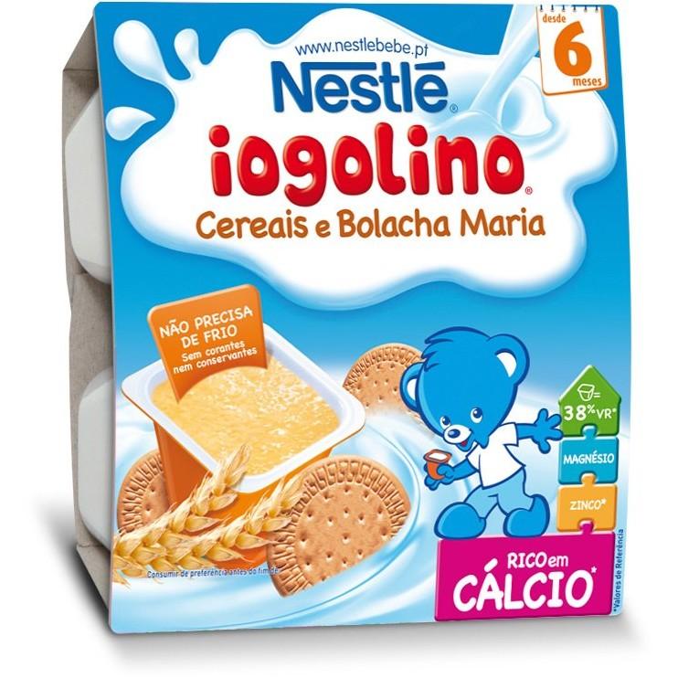 Cereale copii Baby Iogolino cereale si biscuiti 4x 100g de la 6 luni thumbnail