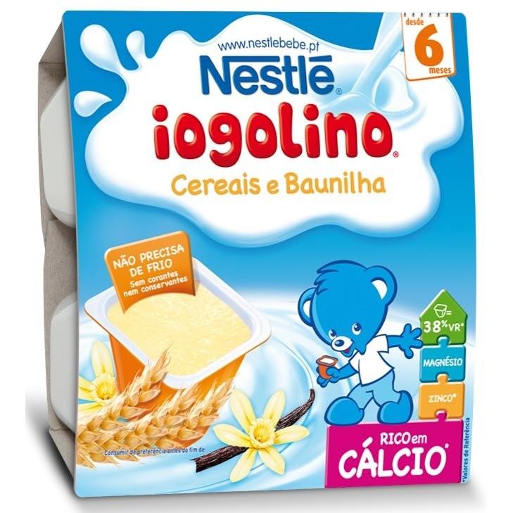 Cereale copii Baby Iogolino cereale si vanilie 4x 100g de la 6 luni thumbnail