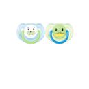 Avent SCF182/14 Clasice albastru / verde 6 - 18 luni 2 bucati