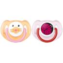 Avent SCF182/15 Clasice roz / galben 6 - 18 luni 2 bucati