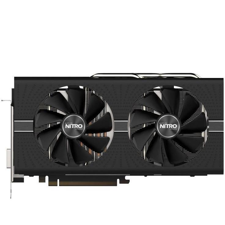 Placa Video Amd Radeon Rx 580 Nitro+ 8gb Ddr5 256bit