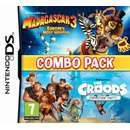 Madagascar 3 Croods  Prehistoric Combo Pack 3DS