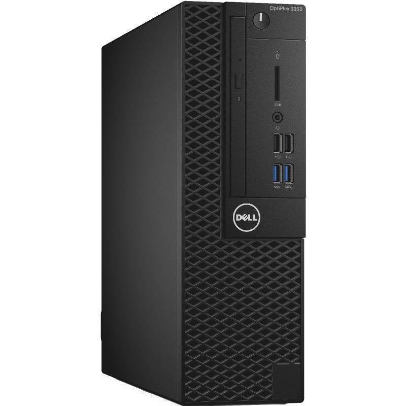 Sistem desktop OptiPlex 3050 SFF Intel Core i3-7100 4GB DDR4 128GB SSD Windows 10 Pro Black