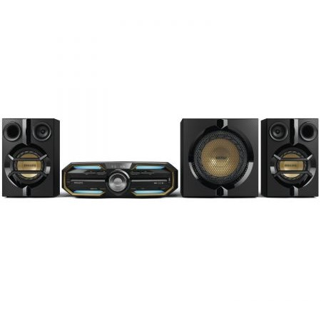 Minisistem audio FX55/12 720W RMS Negru
