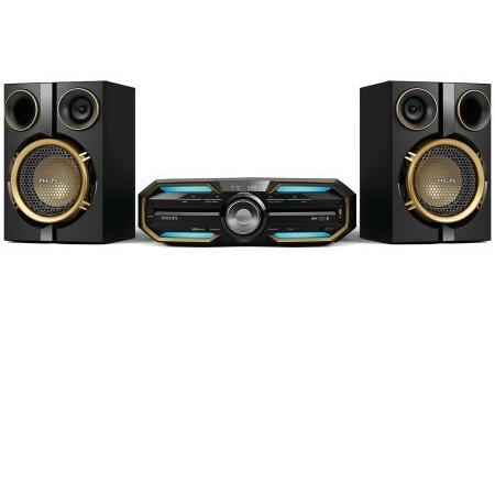 Minisistem audio FX25/12 300W RMS Negru