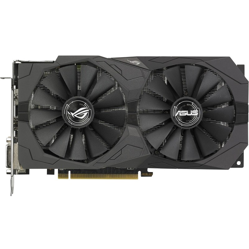 Placa Video Amd Radeon Rx 570 Strix Gaming O4g 4gb Ddr5 256bit