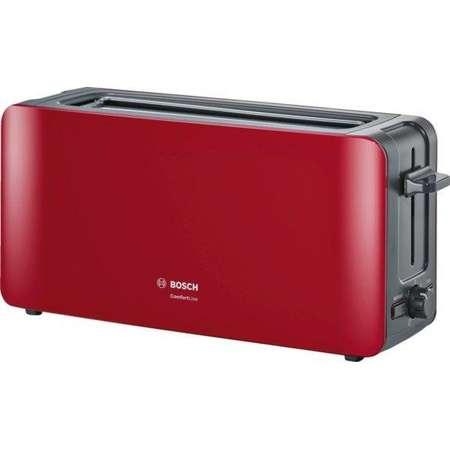 Prajitor de paine Bosch 1090 W 2 felii paine Rosu