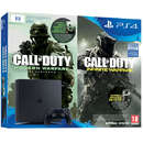 PlayStation 4 Slim 1TB Black + Call of Duty Infinite Warfare Legacy Edition