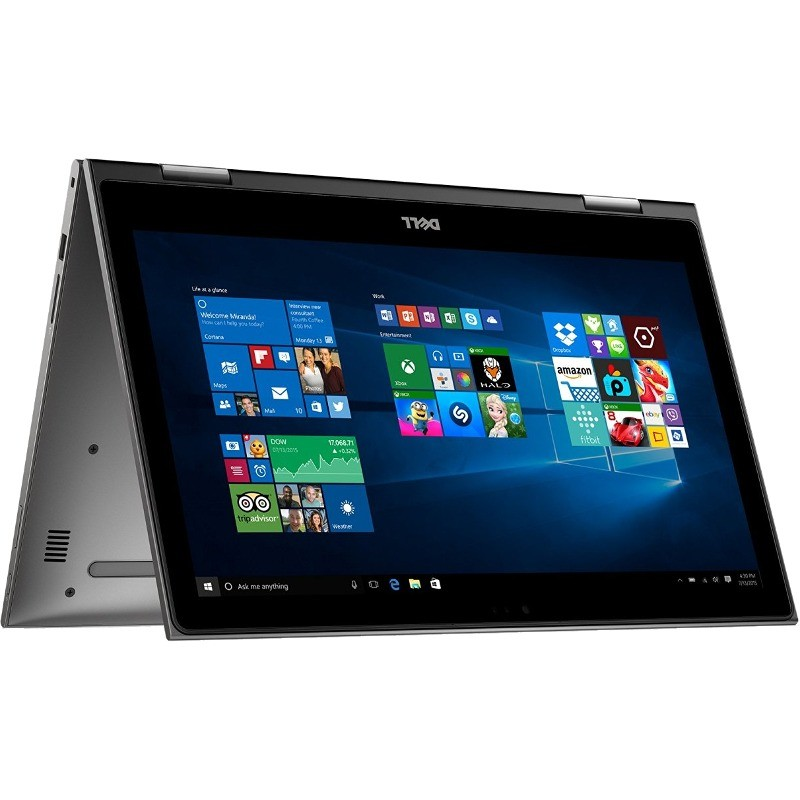 Laptop Inspiron 5578 15.6 inch Full HD Touch Intel Core i5-7200U 8GB DDR4 1TB HDD Windows 10 Grey thumbnail